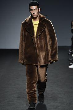 87MM Fall / Winter 2016 - Man in Fur Parka and Fur Pants