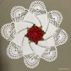 Caminho de mesa passo a passo - www.croche.com (3)