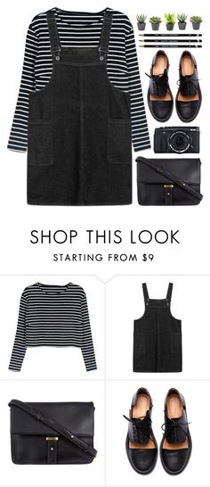 """""""Izzy Bizu - Give Me Love"""" by annaclaraalvez ❤ liked on Polyvore featuring WithChic, Fujifilm, ZALORA and Minimarket"""