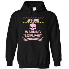 AUDITOR - WARNING - #hoodie allen #sweatshirt style. ORDER NOW => https://www.sunfrog.com/Funny/AUDITOR--WARNING-3549-Black-7173363-Hoodie.html?68278