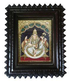 Buy saraswathi tanjore #painting online from #craftshopsindia