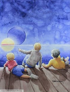 on Strathmore 400 First Night, My Arts, Watercolor, Painting, Watercolour, Watercolor Painting, Painting Art, Paintings