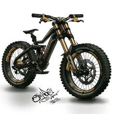 Rate this Haibike Dwnhll drawing by Brad Schneider.art out of ? Motorcycle Design, Bicycle Design, Motorcycle Bike, Pocket Bike, Mini Bike, Image Moto, E Mountain Bike, Electric Mountain Bike, Eletric Bike