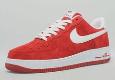 Nike Air Force 1 Low - Red Suede