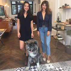 Louise Damas on How French Girls Keep Fashion Week in the Family French Girl Style, French Girls, French Chic, Espadrilles Outfit, Castaner Espadrilles, Parisienne Chic, Jeanne Damas, Louise Damas, Looks Style