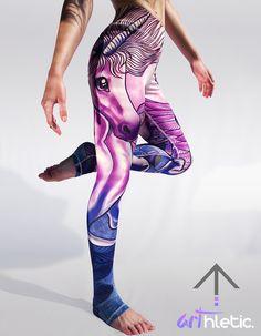 Unicorn leggings - Arthletic Wear - 1