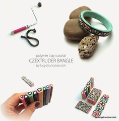 Extruder bangle - full tute (translate) using the CZEctruder by Lucy Clay Tools