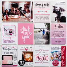 2014 Project Life | February p.3 by listgirl at @Studio_Calico