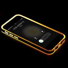 7e5ef3816fb Shockproof Hybrid Rubber Hard LED Light Case For Apple iPhone 6/ 6s/ 6s Plus