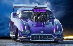 Funny Car Corvette
