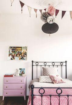 La chambre rose et blanche de Nina