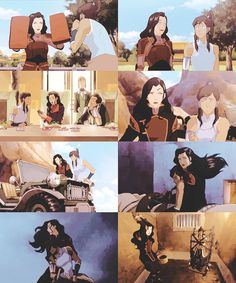 Korrasami <--- they have been through so much, I never shipped them as a couple but it's really not that far fetched, I feel that there have been hints about them, and it annoys me that some people are so annoyed by them, if they are together like suggested it's because they fell in love with each other, their personalities, their friendship, it's not that they are lesbian, they just love each other.