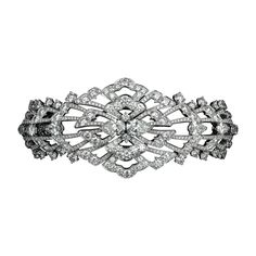 L'Odyssée de Cartier Parcours d'un Style 'Indian Influences and Tutti Frutti' high jewelry bracelet in Platinum, diamonds