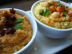 Hummus Dip... YUMMY!!! Two Ways(Regular and Sun-dried Tomato)