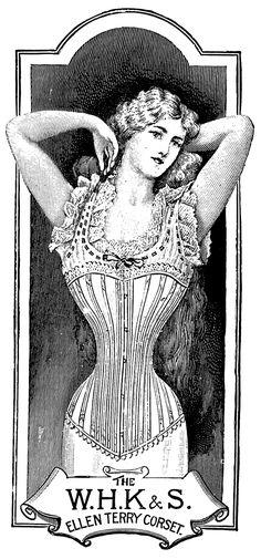 Boulevard de L'antique - Retro Scraps: Free Image of the day: Vintage Corset Ads #vintage #retro #crafts http://boulevardelantique-retroscraps.blogspot.com/2013/02/vintage-corset-ads.html