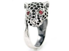 Iosselliani Dotted Panther Ring