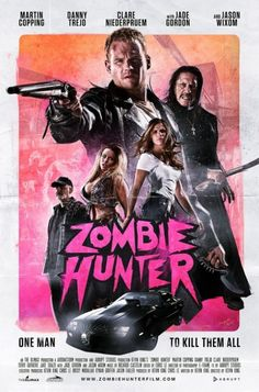 Zombie Hunter trailer preview on the Monster Movie Podcast eps 40