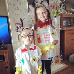 Mad scientists dress up day !!!