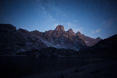 Coldai lake Night by Andrea Zavagnin on 500px