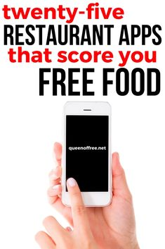 25 Restaurant Apps That Give You Free Food - Queen of Free Free Fast Food Coupons, Coupons For Free Items, Free Coupons By Mail, Free Samples By Mail, Free Printable Coupons, Restaurant Deals, Restaurant Coupons, Stuff For Free, Free Stuff By Mail