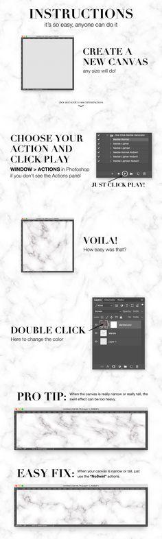 One Click Marble Texture Generator by Josh Johnson on @creativemarket