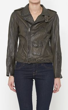 S.w.o.r.d Olive Green Jacket