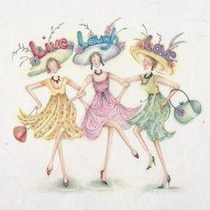 Cards » Live Love Laugh » Live Love Laugh - Berni Parker Designs