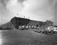 Herinner je Utrecht: bandenfabriek U.B.O. aan de Kanaalweg.