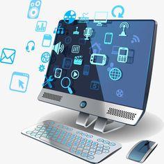 تكنولوجيا الكمبيوتر على الإنترنت, الأنترنيت, العلوم والتكنولوجيا, الحاسوب PNG و فيكتور