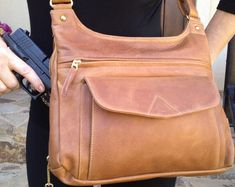 Concealed Carry Holsters, Carry On, Purses And Bags, Crossbody Bag, Weapon, Cross Body, Springfield Xd, My Style, Leather