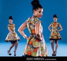 Zizo Beda dressed by Khosi Nkosi