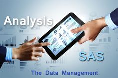 SAS software to #analysis the data management to store the whole business information and backup and restore with statically report the management with the help of #SAS #software