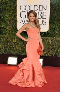 Jessica Alba arrives at the 70th Annual Golden Globe Awards held at The Beverly Hilton Hotel in Beverly Hills, Calif., on January 13, 2013. See more celebs on Wonderwall: http://on-msn.com/10t6zOC