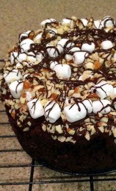 Rocky Road Cheesecake Recipe for the Chocolate Freak!