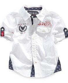 GUESS Baby Boys' Woven Shirt