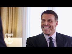 Tony Robbins Reveals His Secret | The New York Times - YouTube