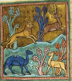 No one in medieval Europe knew what a deer looked like