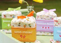 pretty soaps [Niedlich verpackt, toll für Frühjahr und Sommer]