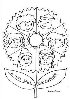 Collegamento Child Day, Bible Stories, Origami Paper, Coloring Pages For Kids, Preschool Crafts, Girl Scouts, Kids And Parenting, Kindergarten, Activities