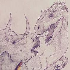Coming soon... #battleatbigrock #paleoart #jurassic #trex #art #drawing #draw #fanart #ink #sketch #sketchbook #artist #dibujo #dinosaur… Dinosaur Sketch, Dinosaur Drawing, Dinosaur Art, Jurassic World Poster, Art And Illustration, Cartoon Drawings, Art Drawings, 30 Day Art Challenge, Illustrator