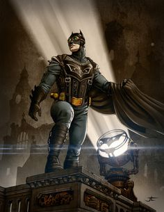 Steampunk Batman - Vektor