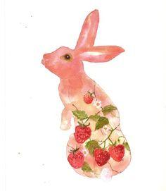 strawberry fields bunny
