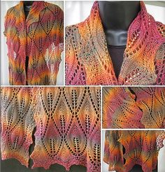 Ravelry: Flames of Fall pattern by Jackie Erickson-Schweitzer in Crystal Palace Yarns Sausalito