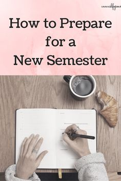 Are you ready to start preparing for a new semester of college? Here are five ways that you can prepare for a new semester today!