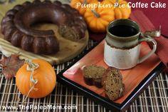 Pumpkin Pie Coffee Cake | The Paleo Mom