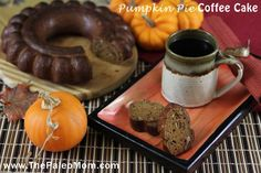 Pumpkin Pie Coffee Cake | The Paleo Mom