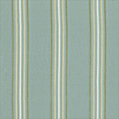 Somerset Stripe #fabric in #aqua from the River Road collection. #Thibaut