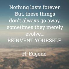 #MondayMotivation #Reinvent #DefineYou #MakeItLast