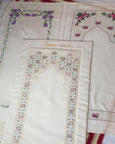 Prayer Rug, Silk Ribbon, Cross Stitch Embroidery, Diy And Crafts, Prayers, Bargello, Mavis, Quilts, Goblin