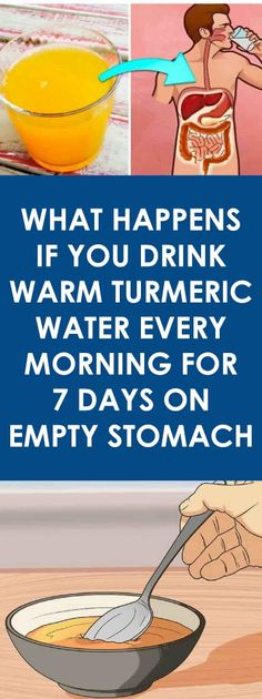 What Happens If You Drink Warm Turmeric Water Every Morning For 7 Days On Empty Stomach What Happens If You, Shit Happens, Alkalize Your Body, Turmeric Water, Turmeric Drink, Fresh Turmeric, Ground Turmeric, Smoothies, Brain Diseases